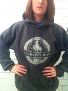 The Watering Bowl hoodie.