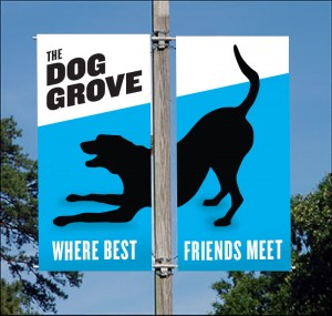Dog Grove, The Watering Bowl location