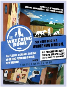 The Watering Bowl Dog Grove Grand Opening Raffle