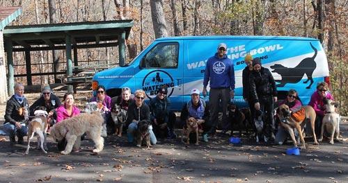 Group Dog Hike St. Louis